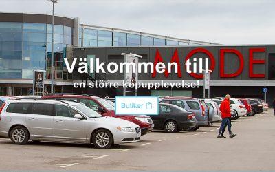 Hansa City köpcentrum i Kalmar